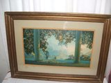 Vintage Maxfield Parrish Daybreak Framed Print in Bartlett, Illinois