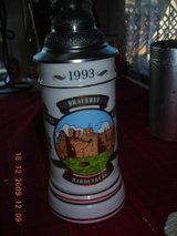 Beer ,mug , with tin lid in Ramstein, Germany