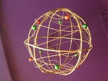 Wire Christmas Ornament in Houston, Texas