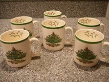 Spode Christmas Tree mugs in Camp Lejeune, North Carolina